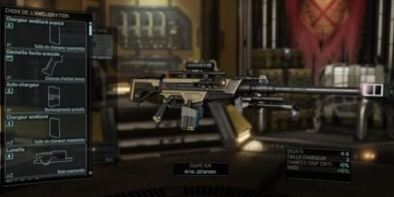 XCOM 2 : Améliorations d'armes & SCP