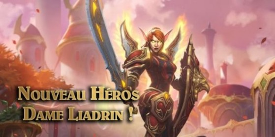 Dame Liadrin, nouveau héros Paladin !