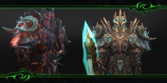 Chevalier de la mort : Set d'armure T19