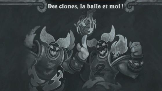 Bras de fer Hearthstone : Des clones, la balle et moi