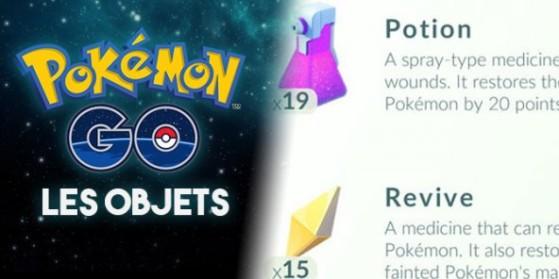Tous les objets de Pokémon GO