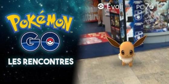 Comment rencontrer des Pokémon dans GO