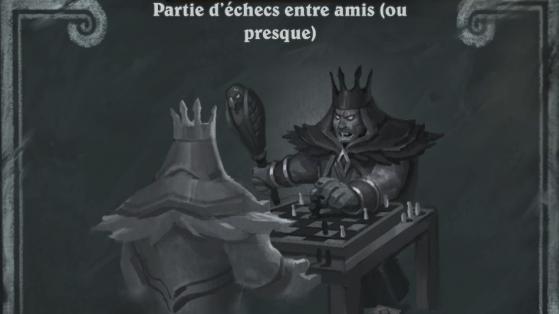 Bras de fer Hearthstone : Partie d'échecs entre amis