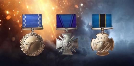 Battlefield 1 : Médailles
