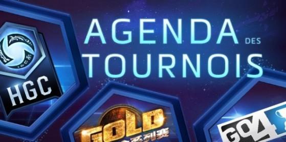 HotS - Agenda tournois de la semaine