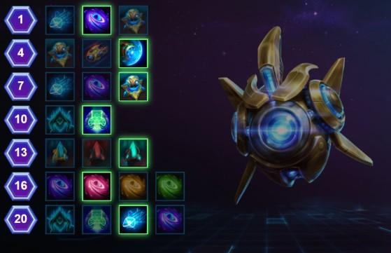 Visuel issu de heroesbuilder.com - Heroes of the Storm