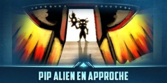 Pip Alien se profile
