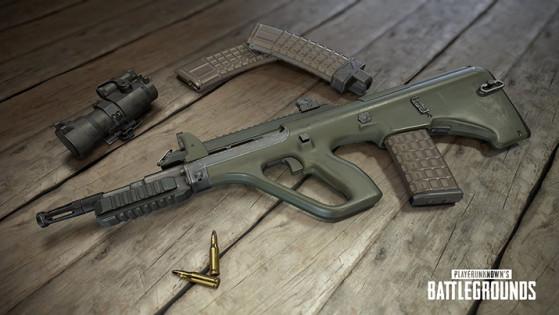 armes feu playerunknown 39 s battleground millenium. Black Bedroom Furniture Sets. Home Design Ideas