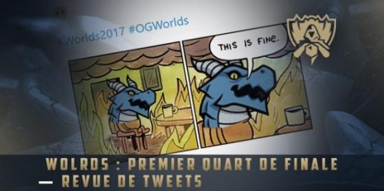 Les meilleurs tweets des Worlds