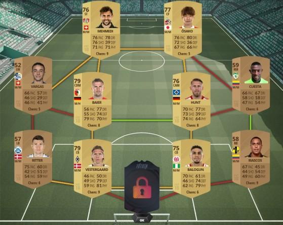 Paires internationales - FIFA