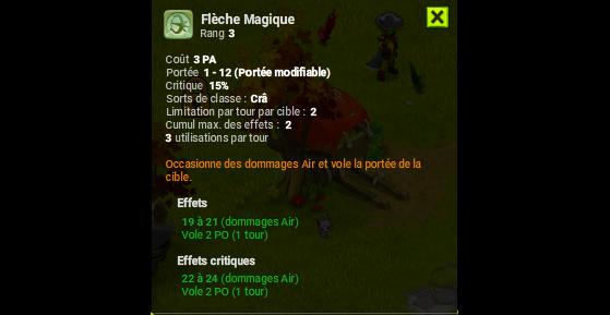 Flèche Magique - Dofus