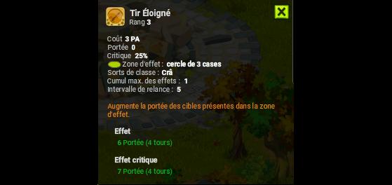 Tir Eloigné - Dofus