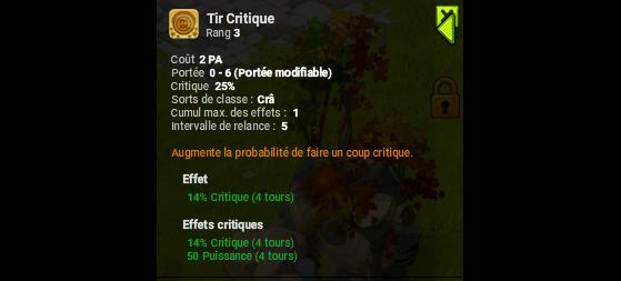 Tir Critique - Dofus