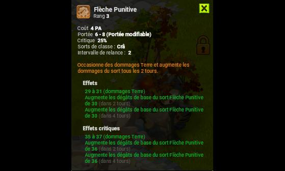 Flèche Punitive - Dofus
