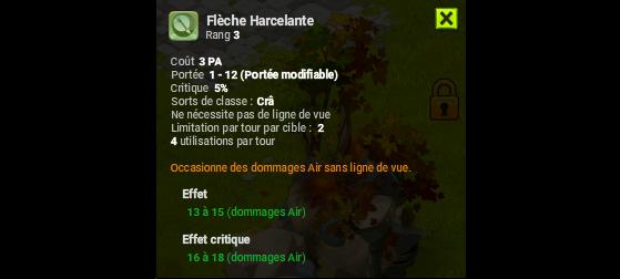 Flèche Harceletane - Dofus