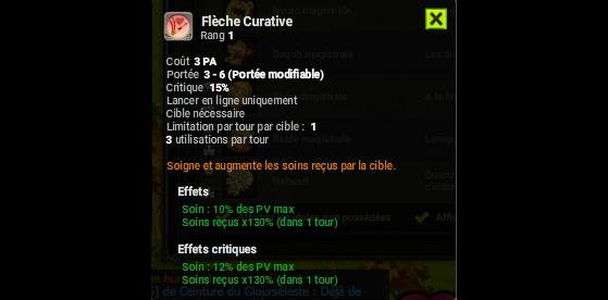 Flèche Curative - Dofus
