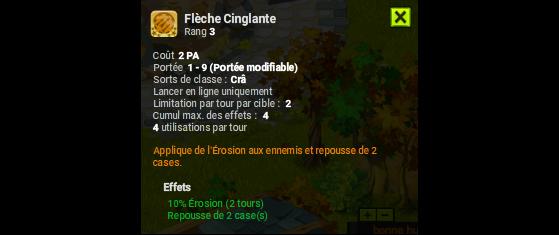 Flèche Cinglante - Dofus