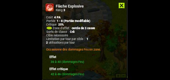 Flèche Explosive - Dofus