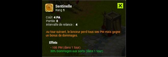 Sentinelle - Dofus