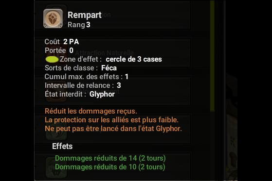 Rempart - Dofus