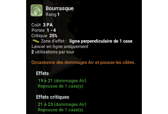 Bourrasque - Dofus