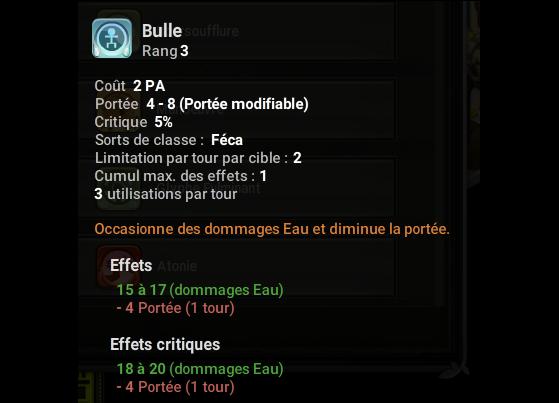 Bulle - Dofus