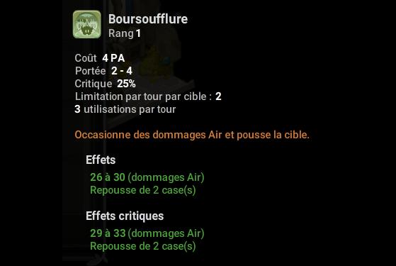 Boursoufflure - Dofus