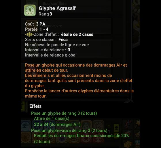 Glyphe Agressif - Dofus