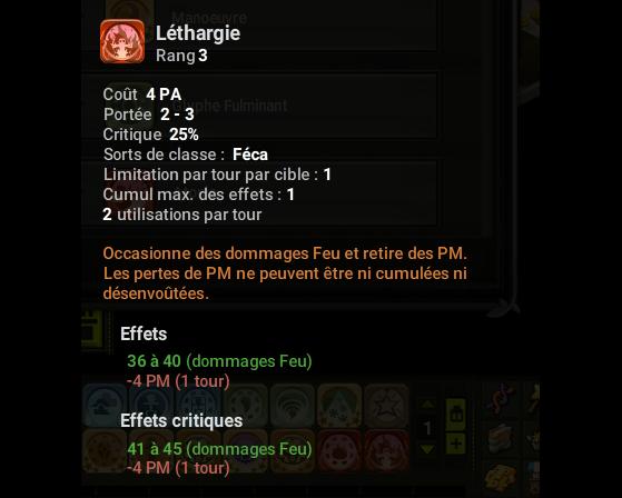 Léthargie - Dofus