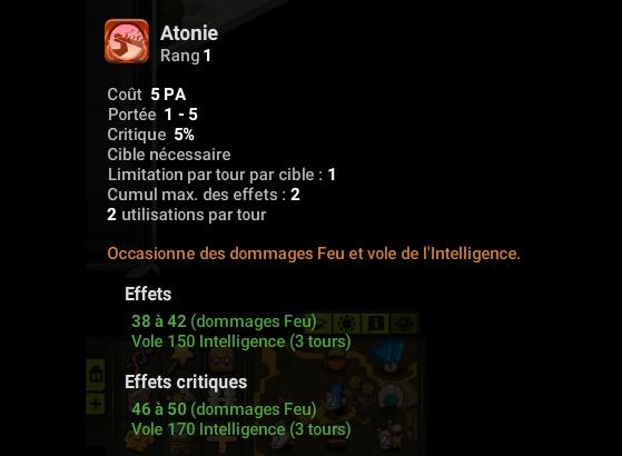 Atonie - Dofus