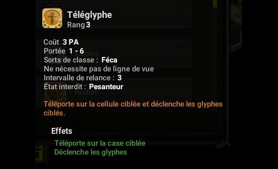 Téléglyphe - Dofus