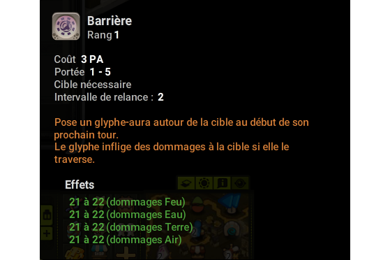 Barrière - Dofus
