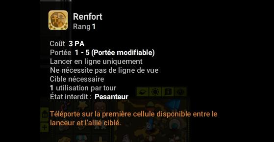 Renfort - Dofus