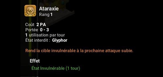 Ataraxie - Dofus