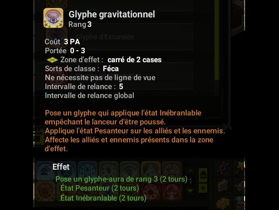 Glyphe gravitationnel - Dofus