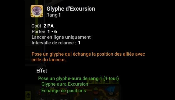 Glyphe d'Excursion - Dofus