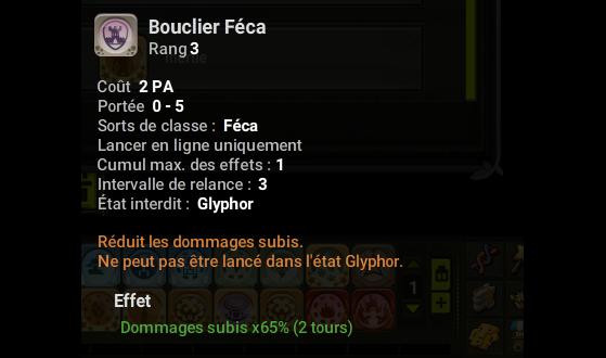 Bouclier Féca - Dofus