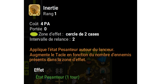 Inertie - Dofus