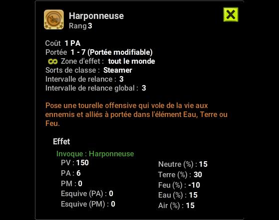 Harponneuse - Dofus