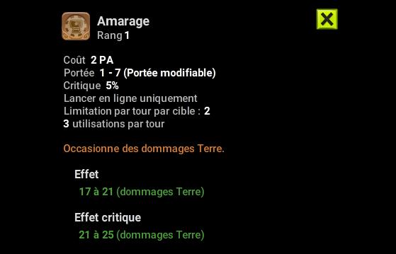 Amarage - Dofus