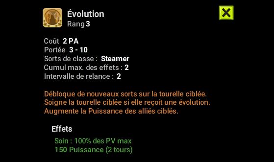 Evolution - Dofus