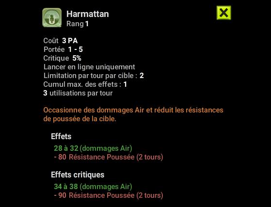 Harmattan - Dofus