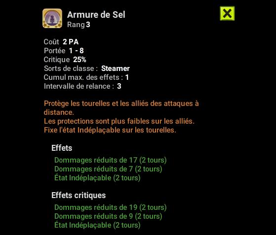 Armure de Sel - Dofus