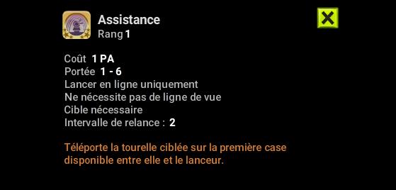 Assistance - Dofus