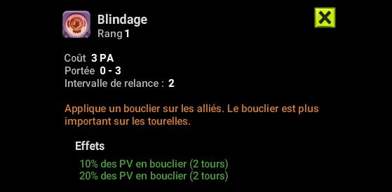 Blindage - Dofus