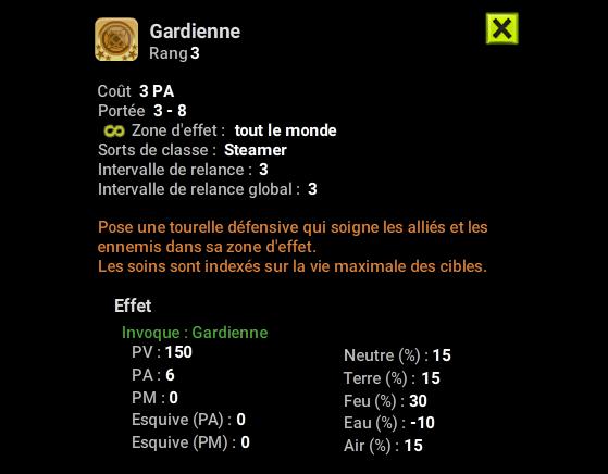 Gardienne - Dofus