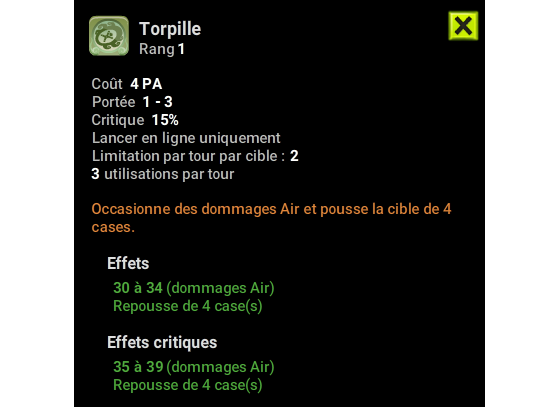 Torpille - Dofus