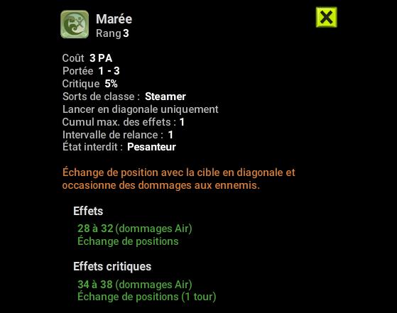 Marée - Dofus