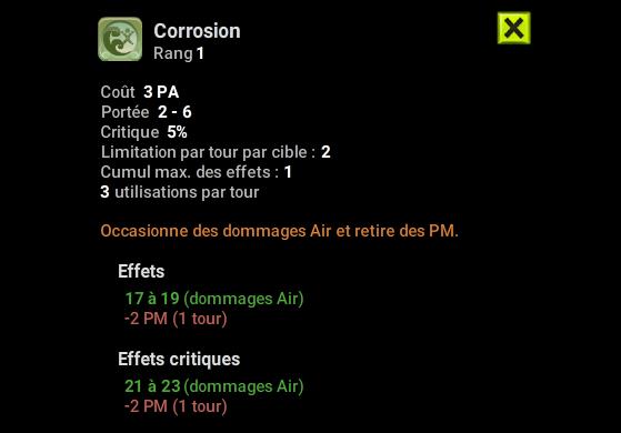 Corrosion - Dofus