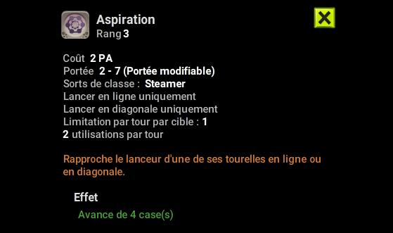 Aspiration - Dofus